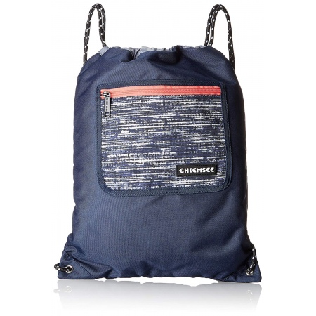 Nahrbtnik Chiemsee DRAWSTRING BAG - 4878 Structure Blue