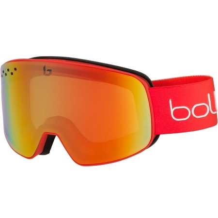 Bolle NEVADA Goggles - Matte Red-Gradient Pc Modulator Fire Red