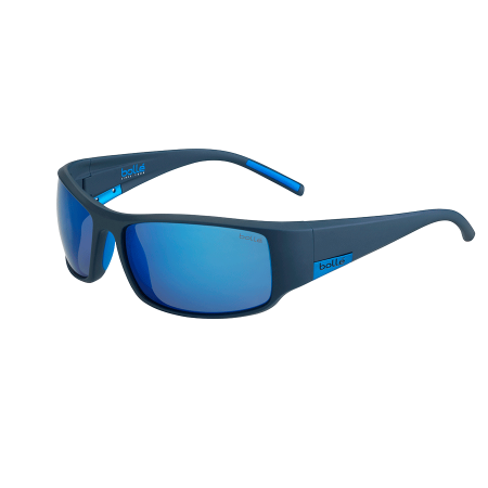 Bolle KING - Matte Mono Blue-Hd Polarized Offshore Blue