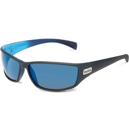 Očala Bolle PYTHON - 0 Matte Black&blue-Hd Polarized Offshore Blue