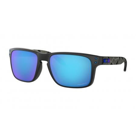 Očala Oakley HOLBROOK - 9102-H055 Matte Black Prizmatic-Prizm Sapphire Polarized