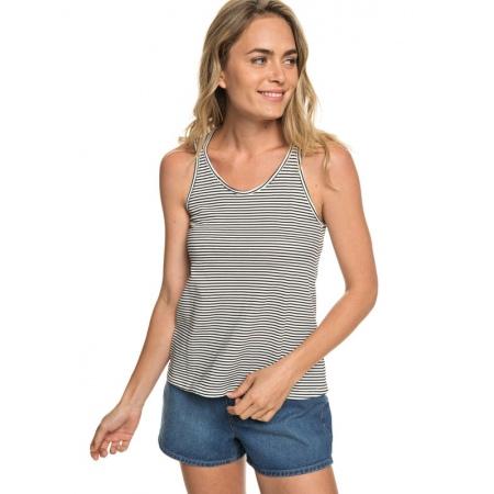 Majica Roxy FLASHBACK MOMENTS - Kvj4 Anthracite Cosy Stripes
