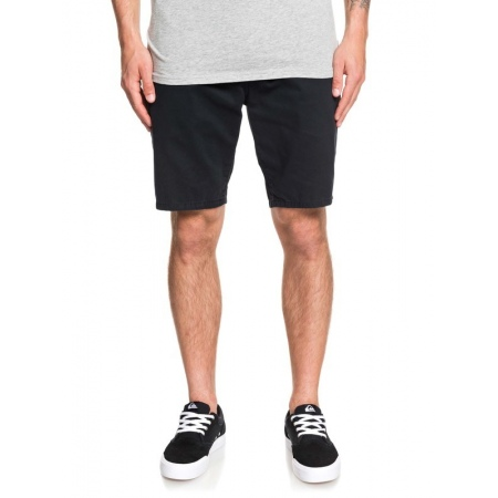 Hlače Quiksilver EVERYDAY CHINO LIGHT kratke - Kvj0 Black