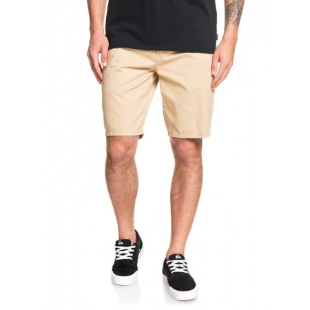 Hlače Quiksilver EVERYDAY CHINO LIGHT kratke - Tgs0 Warm Sand