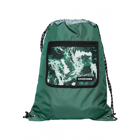 Nahrbtnik Chiemsee DRAWSTRING BAG - 6815 Dark Green Sand
