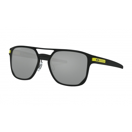 Očala Oakley LATCH ALPHA Valentino Rossi - 4128-0853 Matte Black-Prizm Black Iridium