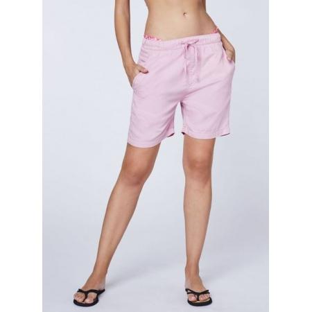 Hlače Chiemsee VENTURA HARBOUR kratke - 14-2305 Pink Nectar