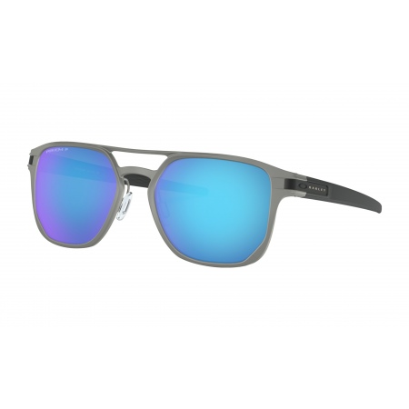 Očala Oakley LATCH ALPHA - 4128-0453 Matte Light Gunmetal-Prizm Sapphire Polarized