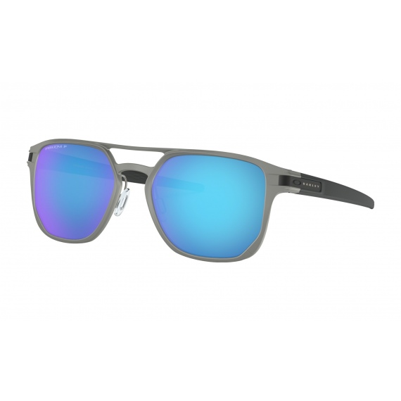 Očala Oakley LATCH ALPHA - 4128-0453 Matte Light Gunmetal-Prizm Sapphire Polarized