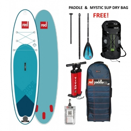"SUP Red Paddle Co RIDE 10'6"" MSL 2019 + VESLO in Nepremočljiva torba Gratis"