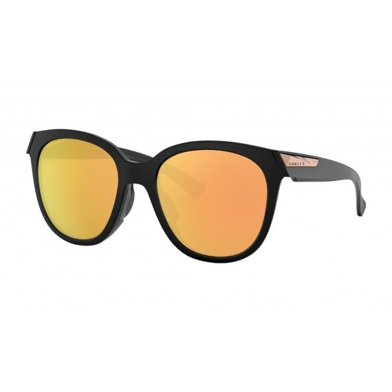 Očala Oakley LOW KEY - 9433-0554 Matte Black-Prizm Rose Gold Polarized
