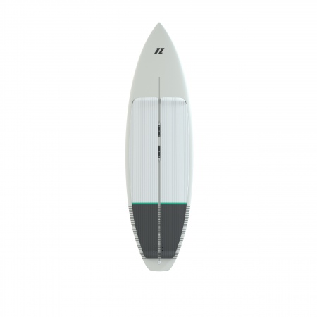 North Deska CHARGE Surfboard - 100 White