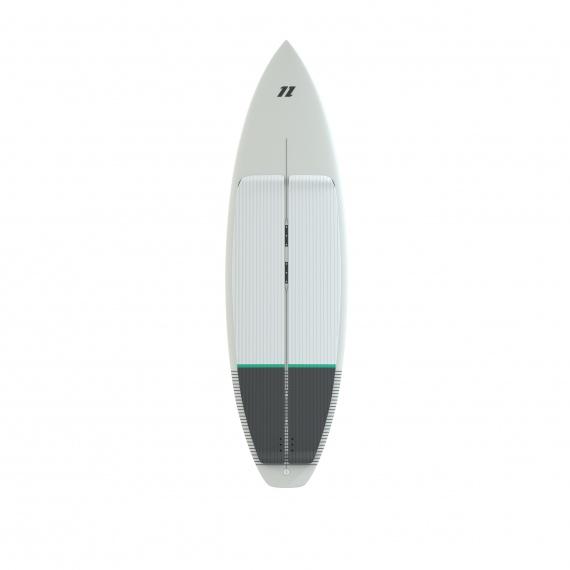 North Deska CHARGE Surfboard - 100 White