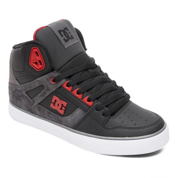 Čevlji DC PURE HT WC SE - Blr Black-Red