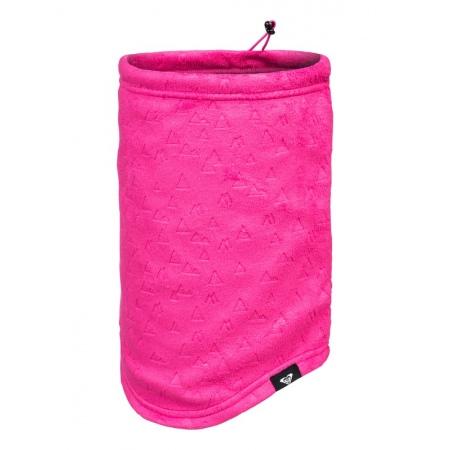 Šal Roxy CASCADE COLLAR - Mml2 Beetroot Pink Risingpeak Embos