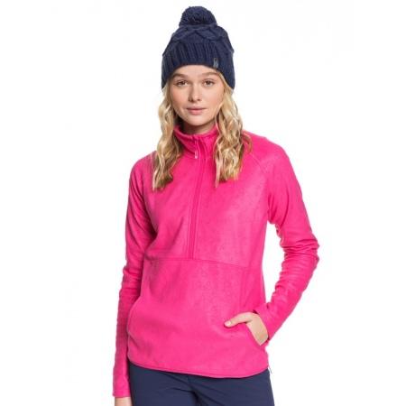 Majica Roxy CASCADE - Mml2 Beetroot Pink Risingpeak Embos