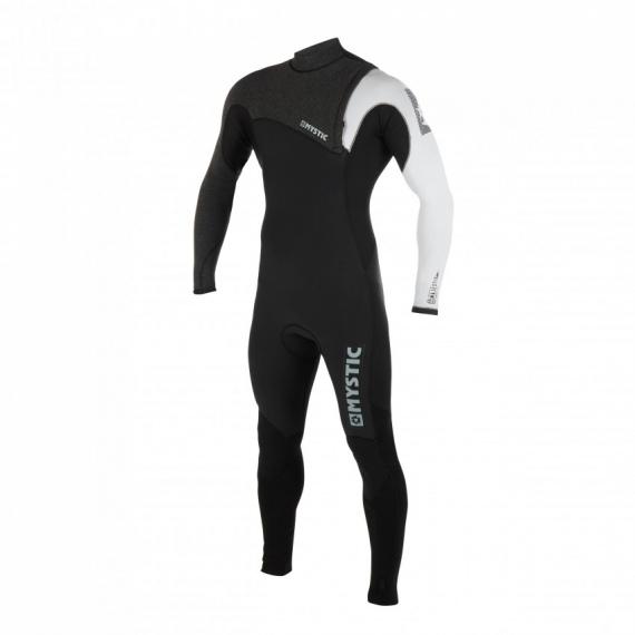 Mystic Obleka LEN10 MAJESTIC 5-3 Zipfree - 950 Black White