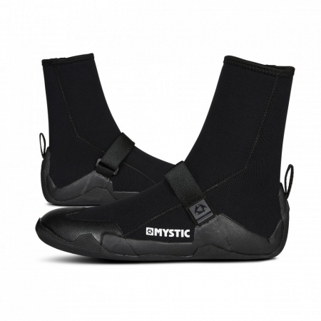 Mystic Čevlji STAR BOOT 5mm Round Toe - 900 Black