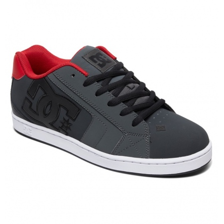 Čevlji DC NET - Gre Grey-Dark Red