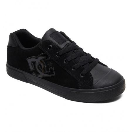 Čevlji DC W CHELSEA SE - Blk Black-Black-Black