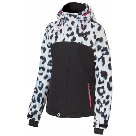 Jakna Rehall MAGGY-R Junior - 51020 White Leopard