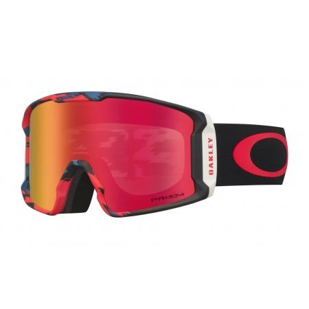 Očala Oakley LINE MINER Sammy Carlson - 7070-5601 Razor Camo Red Blue-Prizm Torch Iridium