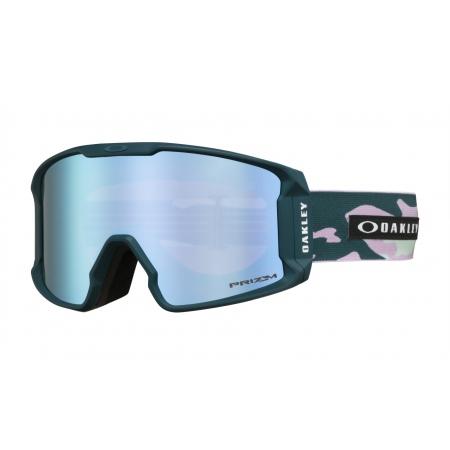 Očala Oakley LINE MINER XM - 7093-1900 Pink Camo-Prizm Sapphire