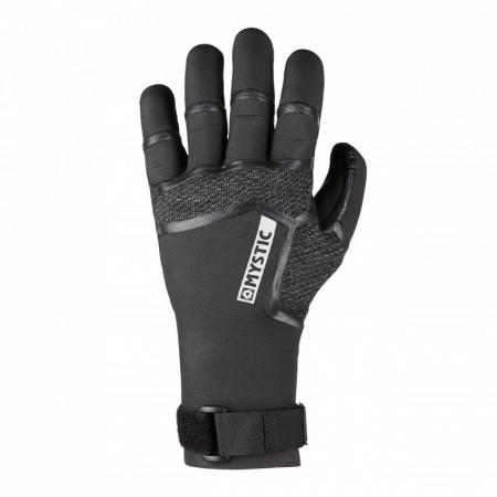 Mystic SUPREME Glove 5mm 5Finger Precurved - 900 Black