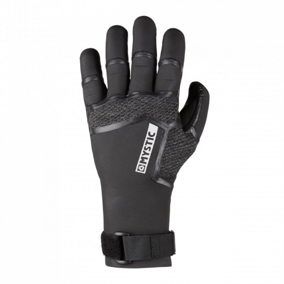 Mystic Rokavice SUPREME Glove 5mm 5Finger Precurved - 900 Black