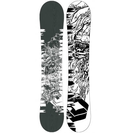 Snowboard FTWO BLACKDECK Wood 154 - Wht White