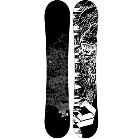 Snowboard FTWO BLACKDECK Wood - Grey