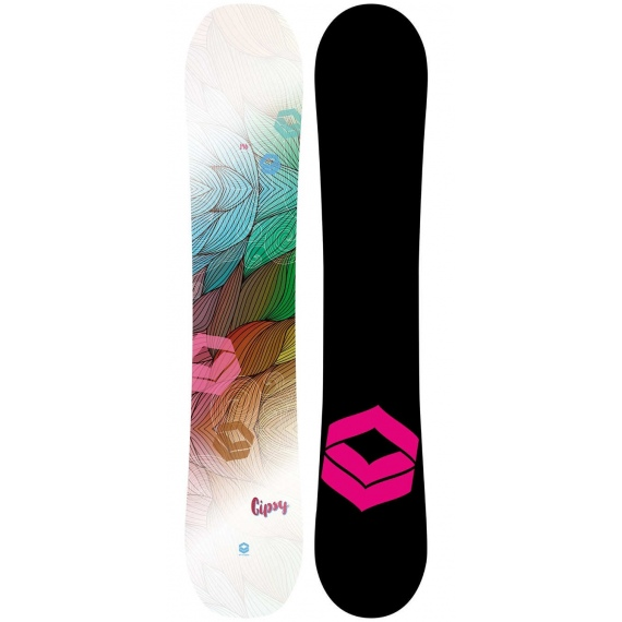 Snowboard FTWO GIPSY - White