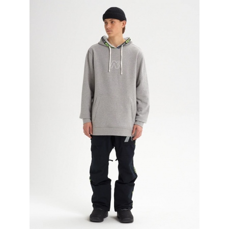 Majica Burton Analog CRUX Hoodie - 020 Gray Heather