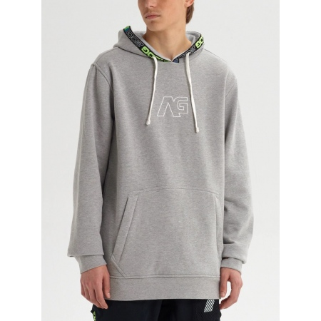 Majica Burton Analog CRUX Hoodie - Gray Heather
