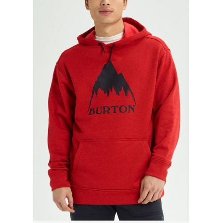 Majica Burton OAK Hoodie - 600 Flame Scarlet Heather