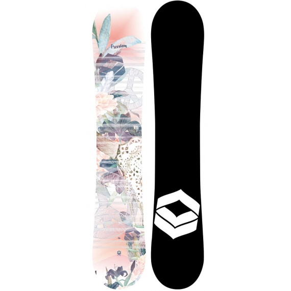 Snowboard FTWO FREEDOM 147 - Ap Apricot