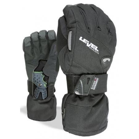 Rokavice Level HALF PIPE Gore Tex - Blk Black