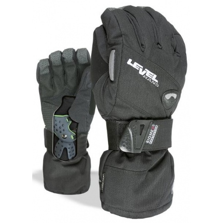 Rokavice Level HALF PIPE Gore Tex - Blk BLK Black