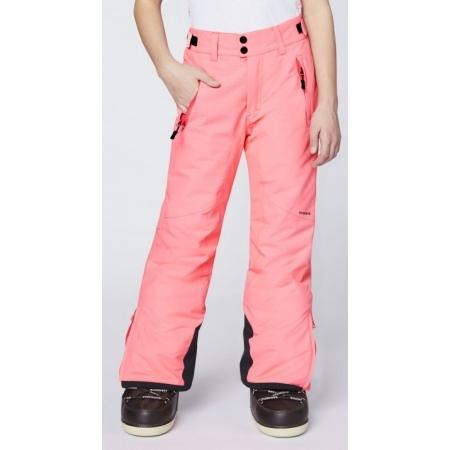 Hlače Chiemsee KIZZY Junior - 93 Neon Pink