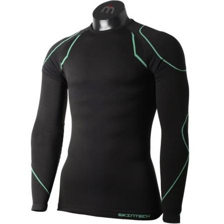 Spodnja Majica Mico IN 1842 Warm Round Neck - 460 Nero Verde