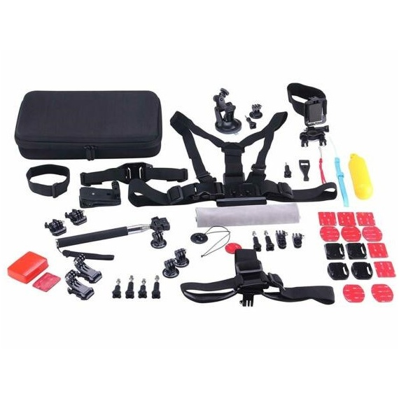NK-KA3060-AC Accessory Kit For Action Camera 53 In 1