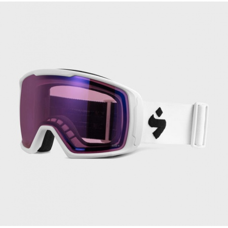 Očala Sweet Protection CLOCKWORK RIG - Satin White-Rig Amethyst