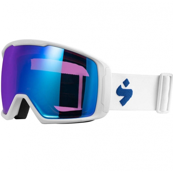 Očala Sweet Protection CLOCKWORK WC RIG-BLI - Satin White Racing Blue-Rig Amethyst & Clear