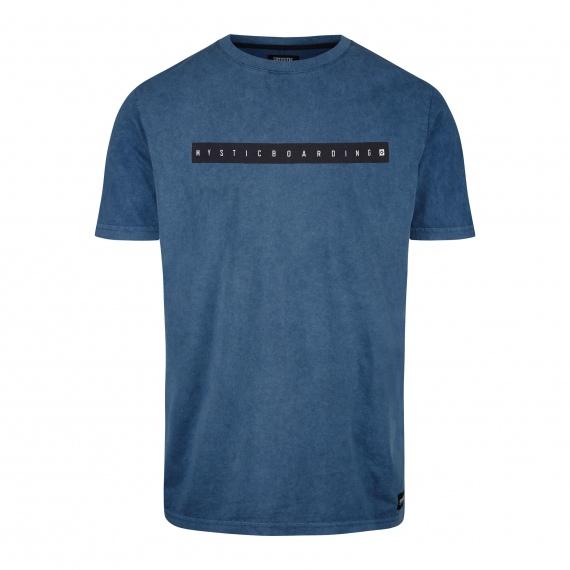 Majica Mystic FLINT SS - 441 Denim Blue
