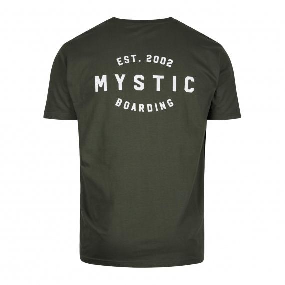 Majica Mystic RIDER SS - 608 Brave Green