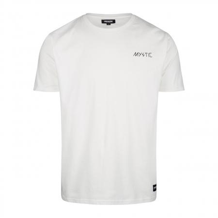 Majica Mystic HIGH VOLTAGE - 100 White