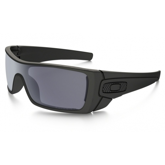 Oakley BATWOLF - 9101-04 Matte Black-Grey Polarized - Infinity Sport ... 84c8d2aca4