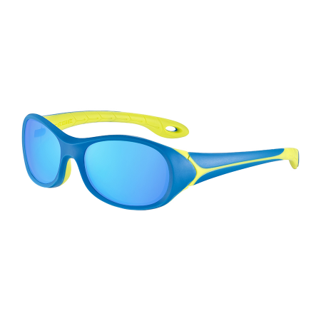 Očala Cebe FLIPPER Junior - 3 Matt Blue Lime-Blue Light Grey