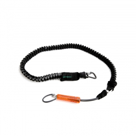 North Handle Pass Leash - 965 Black-Red
