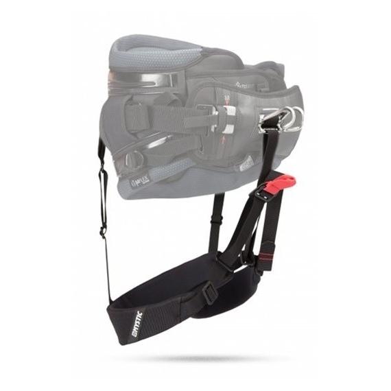 Mystic Zanke STRAPPIES Harness Seat Extension - 900 Black